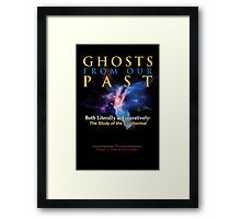 Ghostbusters - Ghosts of Our Past Book Cover Framed Print
