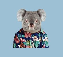 Cute Koala in a Hawaiian Shirt  Unisex T-Shirt