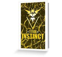 Pokemon Go - Team Instinct Greeting Card
