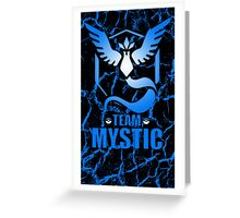 Pokemon Go - Team Mystic Greeting Card