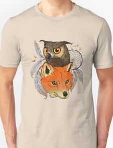 The owl and the fox Unisex T-Shirt