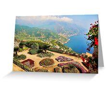 Villa Rufolo Greeting Card