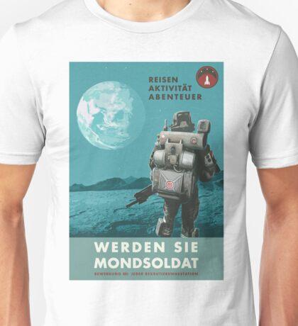 Werden Sie Mondsoldat Unisex T-Shirt