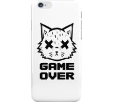 Kitty Game Over iPhone Case/Skin