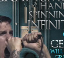 Kingdom Of Giants - Ground Culture Lyric Sign Sticker