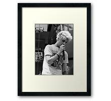 Dalton Rapattoni- black and white Framed Print