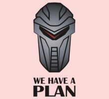 We Have A Plan Cylon BSG Kids Tee