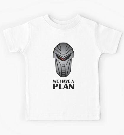 We Have A Plan Cylon BSG Kids Tee