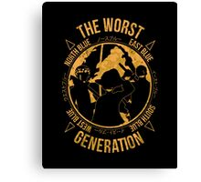 The Worst Generation Canvas Print