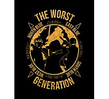 The Worst Generation Photographic Print