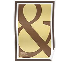 Type Term - Ampersand Poster