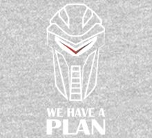 We Have A Plan Cylon BSG One Piece - Long Sleeve