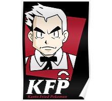 Kanto Fried Pokemon Poster