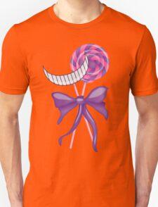 Cheshire Cat Lollipop Unisex T-Shirt