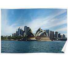 Opera House - Sydney Harbour Poster