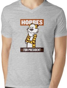 hobbes  Mens V-Neck T-Shirt