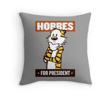 hobbes  Throw Pillow