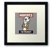 hobbes  Framed Print