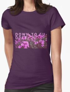 down to cuddle - they made me think of you. Womens Fitted T-Shirt
