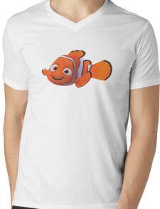 marlin nemo  Mens V-Neck T-Shirt