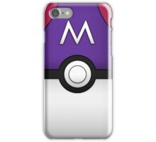 Masterball iPhone Case/Skin