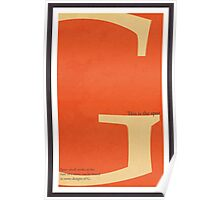 Type Terms - Spur Poster