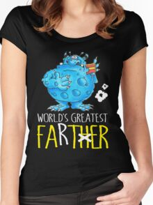 World's greatest Farter! Women's Fitted Scoop T-Shirt