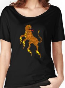 tiger lightning Women's Relaxed Fit T-Shirt