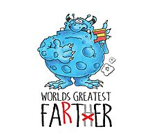 World's greatest Farter! Photographic Print