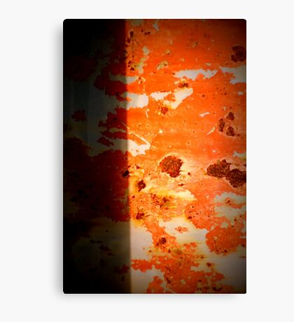 Abstract In Red and Shadow Canvas Print