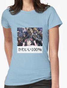 100% KAWAII Womens Fitted T-Shirt