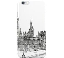 Pensil Drawing 578 iPhone Case/Skin