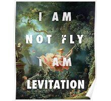 I AM NOT FLY, I AM LEVITATION Poster