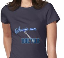 Sonic Me, Doctor Womens Fitted T-Shirt