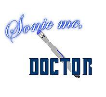 Sonic Me, Doctor Photographic Print