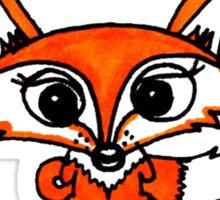 For Fox Sake Sticker