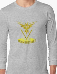 Awesome funny T - shirt design for instinct and more Long Sleeve T-Shirt