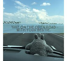 On the Open Road with your Bestie Photographic Print