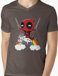 deadpool union Mens V-Neck T-Shirt