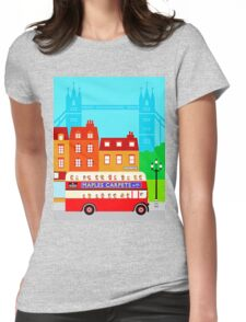 Double Decker 578 Womens Fitted T-Shirt