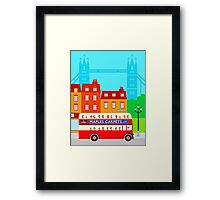 Double Decker 578 Framed Print