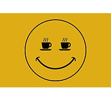 Smiley Coffee Photographic Print
