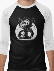 cool saiyan silhouette Men's Baseball ¾ T-Shirt