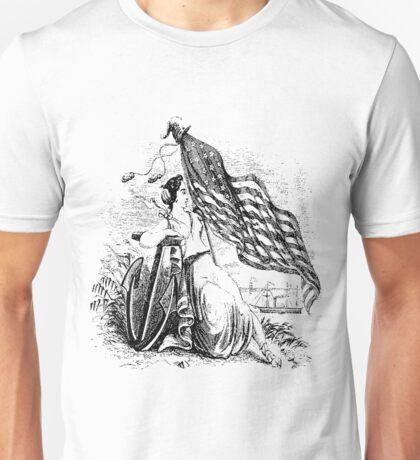Sailor Woman Flagger Unisex T-Shirt