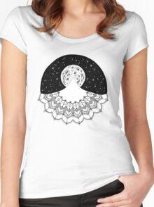 Mandala Mountain Women's Fitted Scoop T-Shirt
