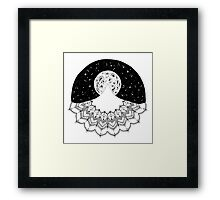 Mandala Mountain Framed Print