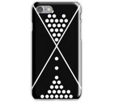 Geometric Abstract Sand Dial  iPhone Case/Skin