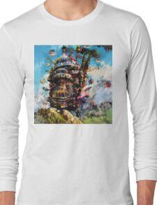 howl's moving castle Long Sleeve T-Shirt