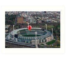 Melbourne Cricket Ground at dawn Art Print