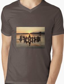 Inukshuk Mens V-Neck T-Shirt
